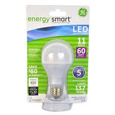 ge led light bulbs ge 11 watt a19 energy smart led general use bulb sam s club