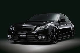 black mercedes mercedes e class black bison edition by wald gallery top