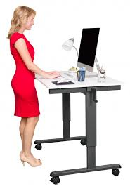 Standing To Sitting Desk 48 Crank Adjustable Height Standing Desk Stand Up Desk Store
