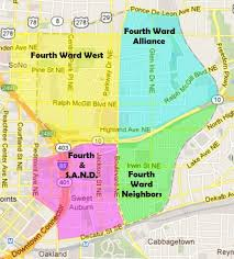 Map Atlanta by Fourth Ward Neighbors Official Site For The Fwn In Atlanta Georgia