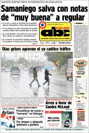newspaper abc color paraguay newspapers paraguay monday u0027s
