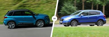 suzuki vitara vs sx4 s cross suv siblings carwow