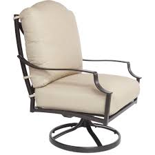 Patio Best Price Cast Aluminum Furniture Low Cost Cast Iron Swivel Rocker Chair For Patio