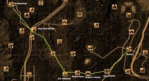 Fallout New Vegas Map With All Locations by Steam Community Guide Novac At Level 1 Safest And Fastest