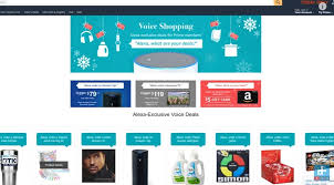 alexa amazon black friday amazon u0027s voice shopping weekend gives huge discounts for ordering