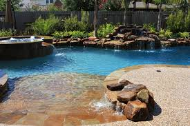 Backyard Pools And Spas by Pool Spa And Waterfall