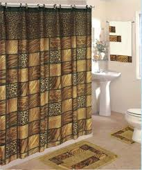 Bathroom Shower Curtain And Rug Set Shower Curtain Rug And Towel Set Curtain Gallery Images