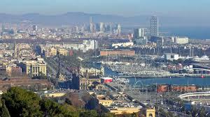 barcelona city view barcelona tourism city tour travel cityscape views guide