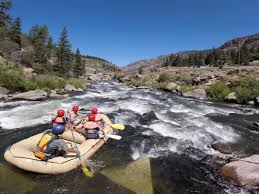Rock Gardens Rafting Tributary Whitewater Tours Truckee River Rafting