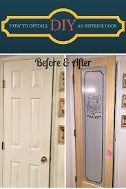 Hanging Interior Doors How To Install An Interior Door Vento