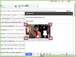 how to add an animated gif to a gmail email 8 steps
