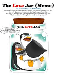 the love jar meme kowalskip by rednblackdevil on deviantart