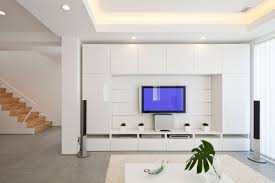 Led Tv Wall Mount Furniture Design Decoration Sophisticated Wall With Its Decorations And A Modern