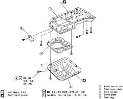 nissan altima head gasket repair guides engine mechanical oil pan autozone com