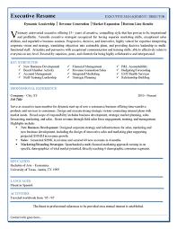 Sales Executive Resume Samples by Executive Resume Template Berathen Com