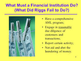 Willful Blindness Aml Corruption Profiles Prosecution Of Financial Intermediaries That