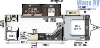 Rockwood Trailers Floor Plans Rockwood Ultra Lite Travel Trailer