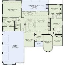 european house plan first floor 036d 0160 house plans and more