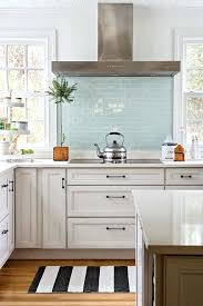 blue tile kitchen backsplash blue glass backsplash tiles blue glass modern kitchen blue glass