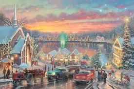 mcadenville christmas lights 2017 the lights of christmastown the thomas kinkade company