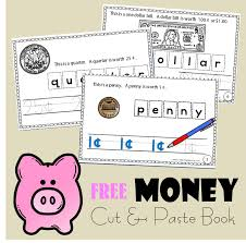 money cut and paste book