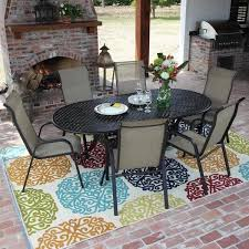 outdoor sling patio furniture home design inspiration ideas and