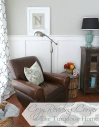 cozy reading corner the turquoise home