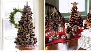 pine cone table decorations decorating dining room ideas interior design ta