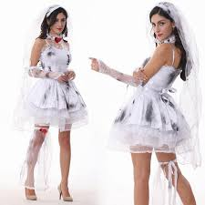 halloween costumes women bride character cosplay costume lace