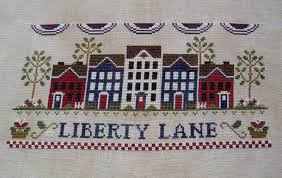 Country Cottage Needlework by Renee U0027s Stitching Ccn Liberty Lane