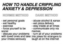 Depressed Drinking Meme - 15 sad memes for sad boys collegehumor post