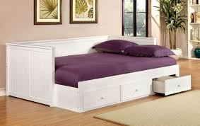 bedroom mesmerizing with trundle white full size daybed with