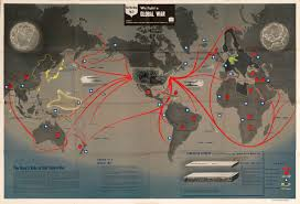 map world ro striking world war two nav war map issued by the u s navy