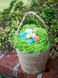 Easter Decorations To Print And Color by 22 Clever Diy Easter Basket Ideas Hgtv