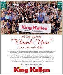 king kullen thanks employees for a well done king kullen