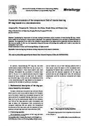 temp ature chambre b temperature rise in a semi infinite medium heated by a disc source