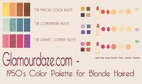 1950s color scheme the 1950 s fashion look according to helena rubinstein glamourdaze