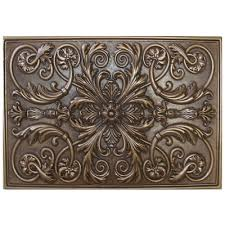 kitchen medallion backsplash soci tile ssgb 1221 metallic resin plaque kitchen backsplash