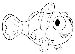 cartoon clownfish step step drawing lesson