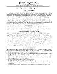 Best Resume Executive Summary by Gis Resumes Resume For Your Job Application