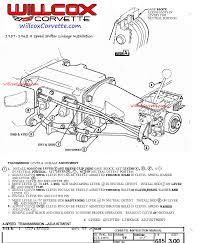 1957 1962 corvette 4 speed shifter linkage installation