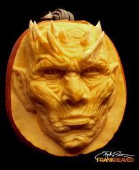 artist carves got night king in pumpkin u2014 steemit