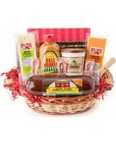 summer sausage gift basket bargains on party favorites gourmet summer sausage and