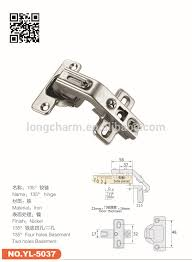 135 degree kitchen soft close cabinet hinges from longcharm