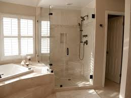 Seamless Glass Shower Door Frameless Glass Shower Doors For Bathtubs Home Romances