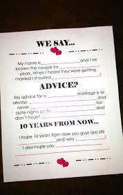 advice to the cards wedding advice cards ideas