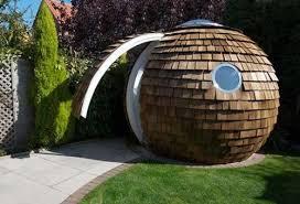 tiny round backyard office u2013 tiny house pins
