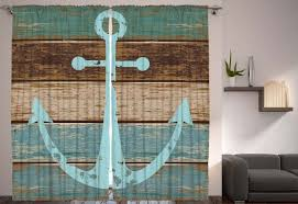 Livingroom Curtain by Anchor On Rustic Wood Living Room Curtain