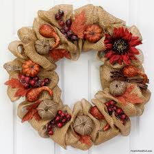 fall burlap pumpkin wreath how to nest for less