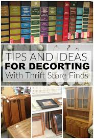 Stores For Decorating Homes Thrift Store Essentials For The Thrifty Decorator Little House